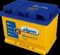 Аккумулятор АКОМ EFB 60 А EN 530A R+