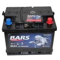 Аккумулятор Bars Silver 60 А EN 500A L+