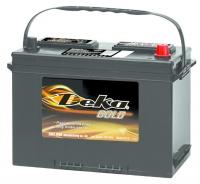 Аккумулятор Deka 624 FMF 70 А EN 650A R+ D26