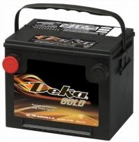 Аккумулятор Deka 675 MF 60 А EN 650A R+ D23 боковые клеммы