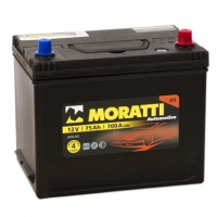 Аккумулятор Moratti  Asia 75 А EN 700A R+ D26