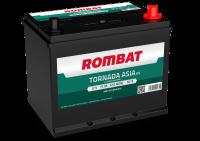 Аккумулятор Rombat Tornada Asia 75 А EN 610A R+ D26