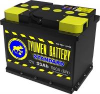 Аккумулятор  Tyumen Battery Standard 55 А EN 500A L+