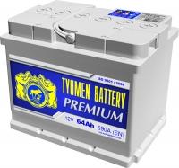 Аккумулятор  Tyumen Battery Premium 64 А EN 590A L+