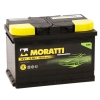 Аккумулятор Moratti 75 А EN 750A R+
