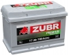 Аккумулятор ZUBR Premium 77 A EN 720 A R+